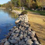 boulder shoreline