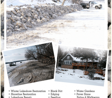 Winter Shoreline Restoration